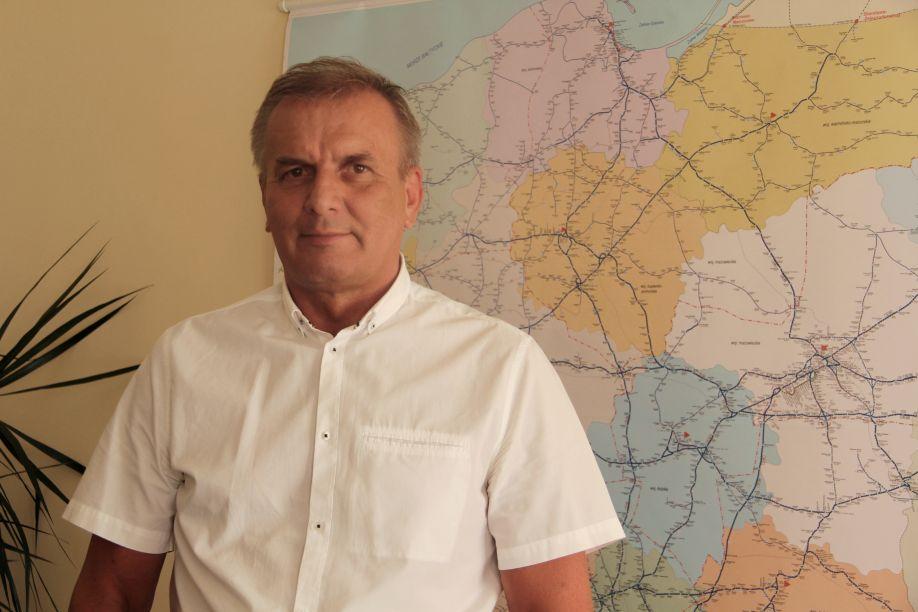 """Kolej od kuchni: Zmiany w Przewozach Regionalnych ,,Jest to dla nas duże wyzwanie. Ale jesteśmy na nie gotowi"""" – mówi Andrzej Chańko, dyrektor zachodniopomorskiego oddziału Spółki"""