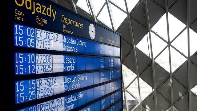 """,,Bezpieczne Wakacje"""" promowane na dworcach kolejowych w Polsce"""