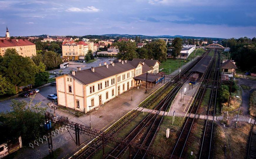 Dworzec w Strzelinie