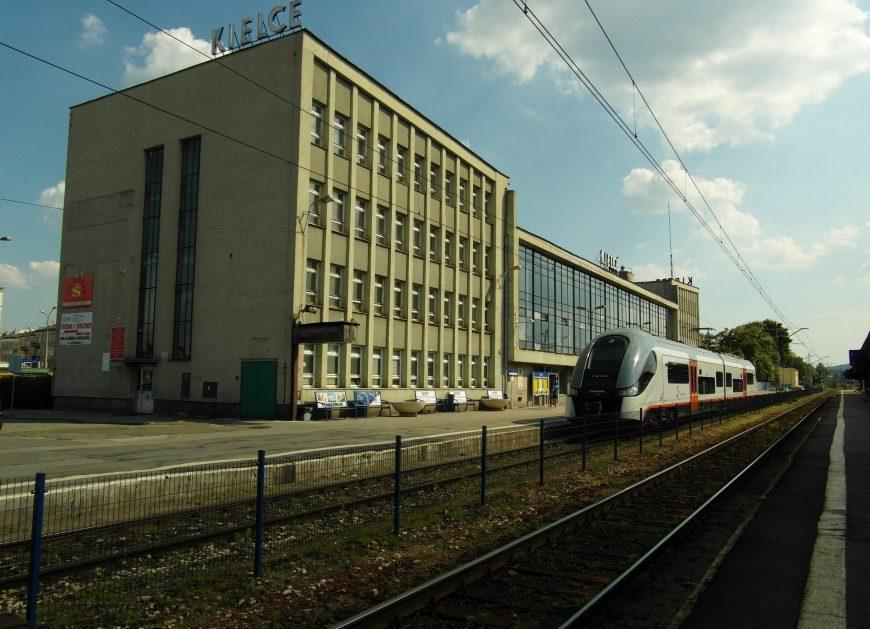 Dworzec PKP w Kielcach