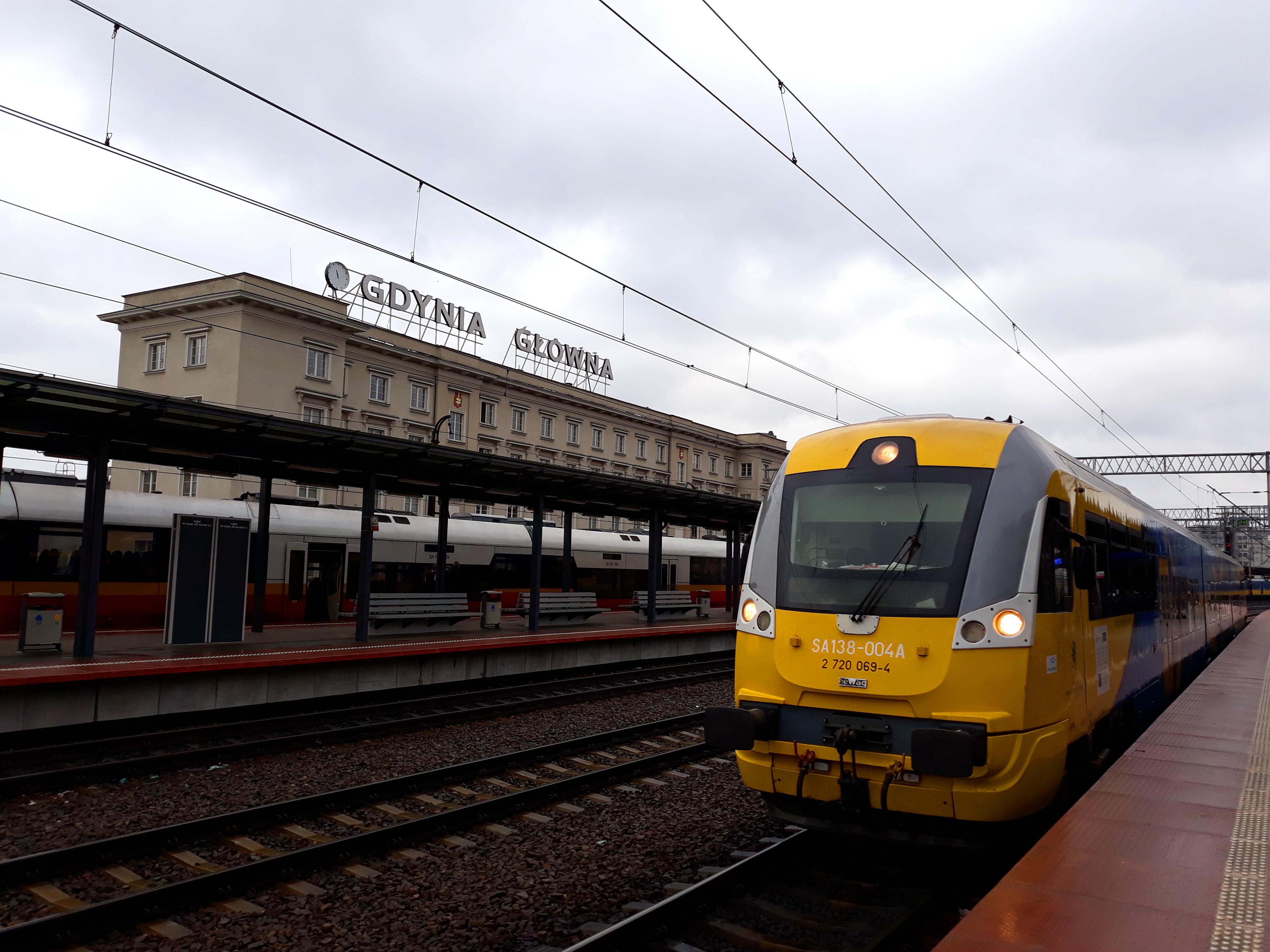 Kaliningrad-Gdynia – pociągi na trasie po jazdach pilotażowych