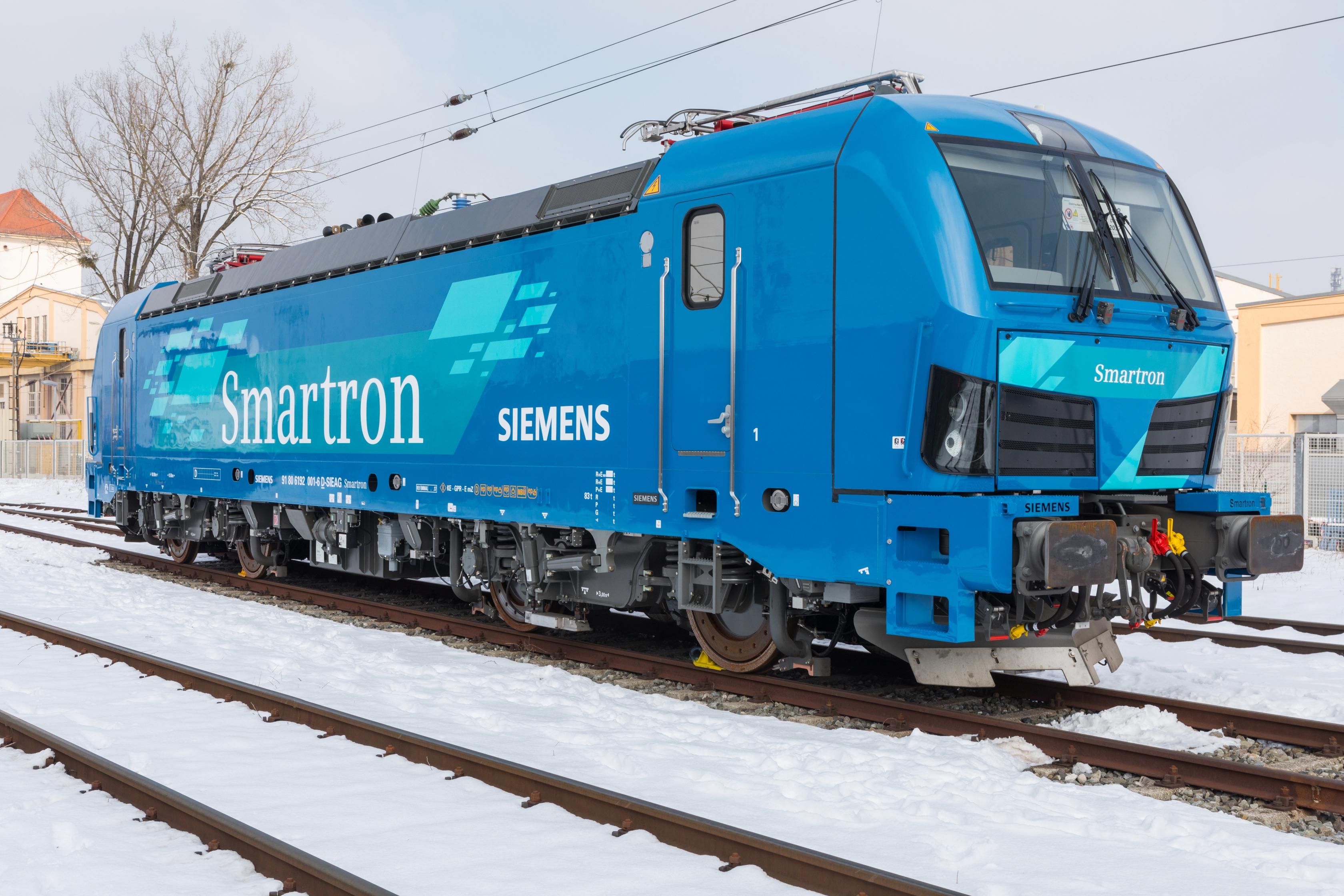 Siemens z nową lokomotywą. Smartron będzie kursował w Niemczech