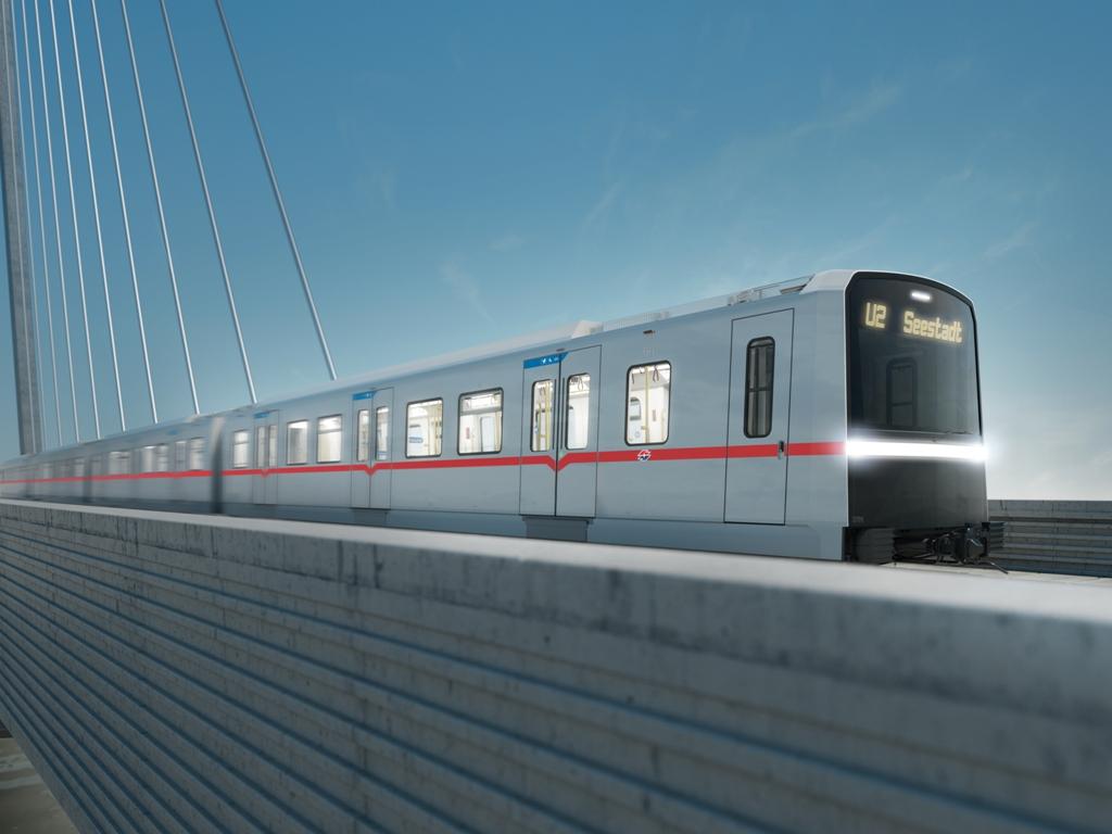 Siemens dostarczy pociągi metra X dla wiedeńskiego Wiener Linien