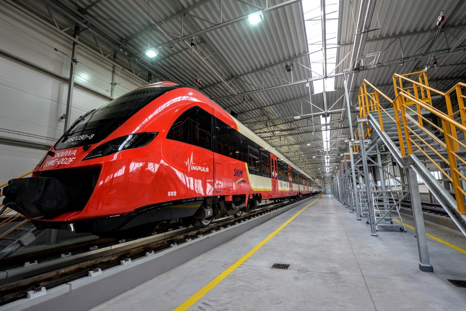SKM Warszawa skorzysta z dofinansowania CUPT. Spółka kupi 21 nowych pociągów