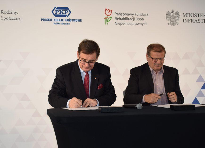 NaKolei.pl - PKP S.A. i PFRON - aktywne działania na rzecz osób niepełnosprawnych