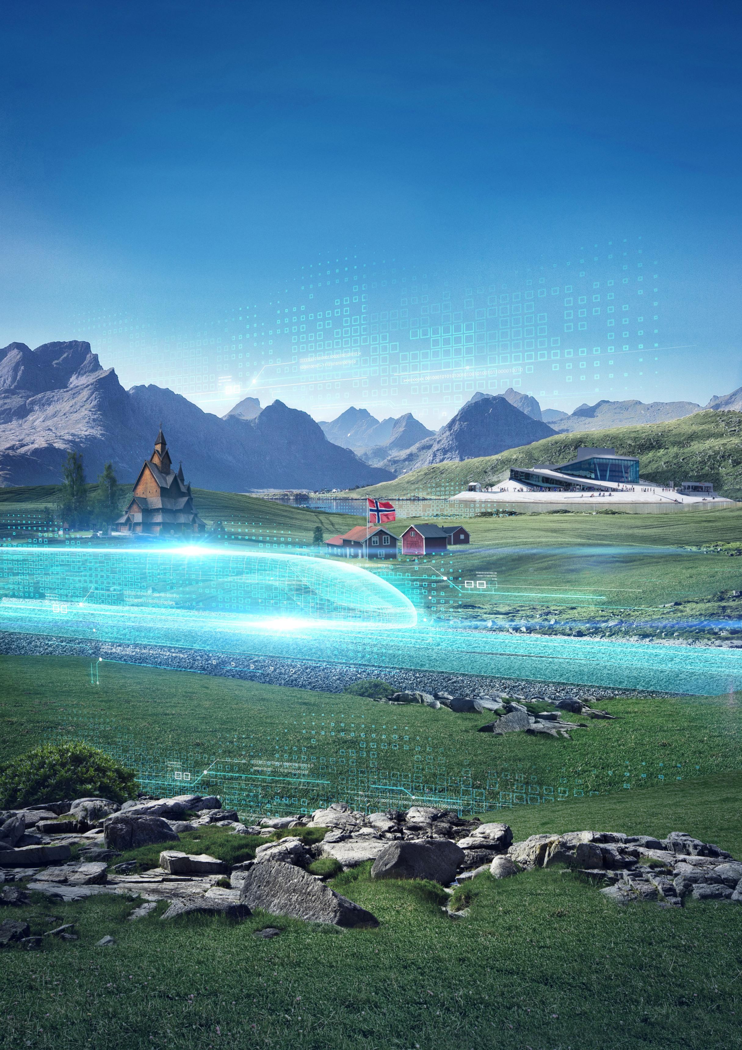NaKolei.pl - ETCS poziomu 2 od Siemensa dla Norwegii. Koniec inwestycji na linii w 2034 roku