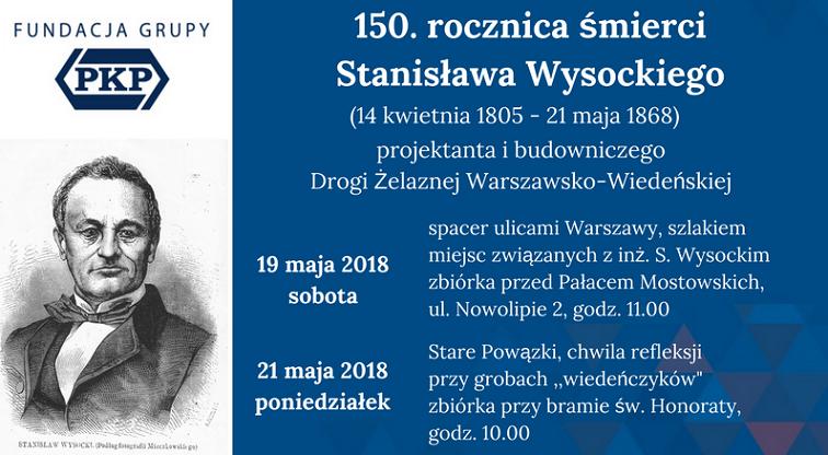 NaKolei.pl - Fundacja Grupy PKP upamiętnia inżyniera budowy Drogi Żelaznej Warszawsko-Wiedeńskiej