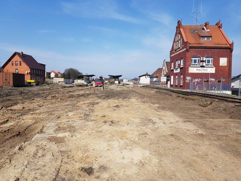 Remont linii Miastko - Słupsk - Ustka