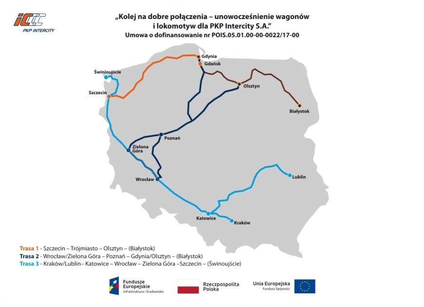 NaKolei.pl - Dotacja dla PKP Intercity w wysokości 251 mln zł. Spółka realizuje strategię taborową
