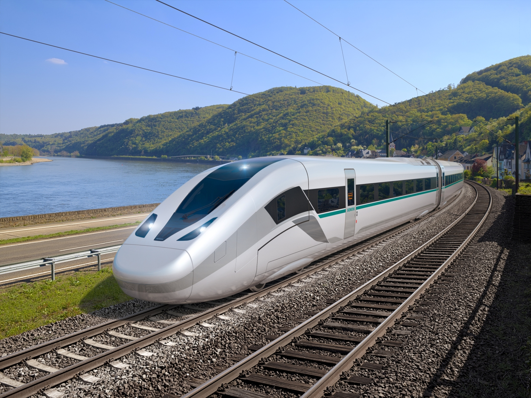 Po pięciu latach prac projektowych Siemens prezentuje nową generację pociągu Velaro Novo