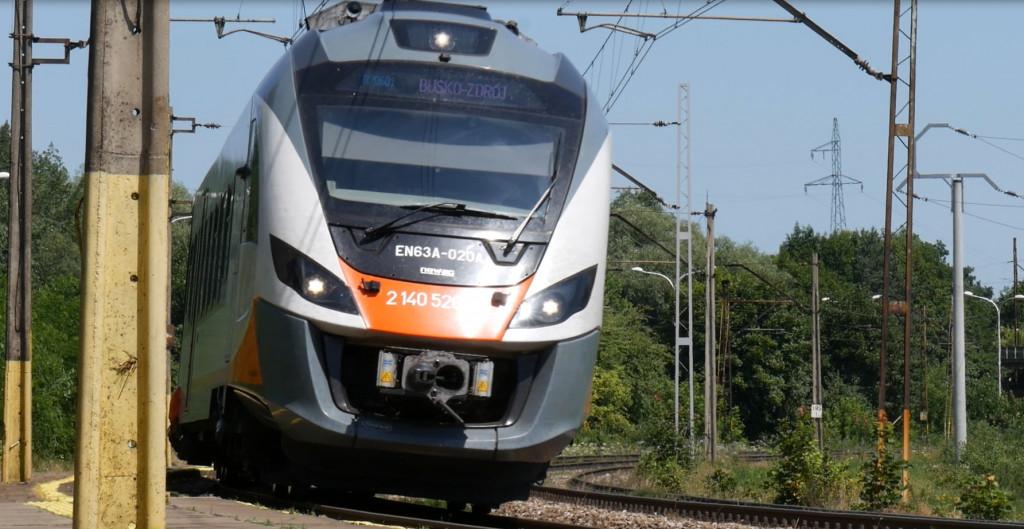 Pociąg do zdrowia na trasie Kielce-Busko-Zdrój