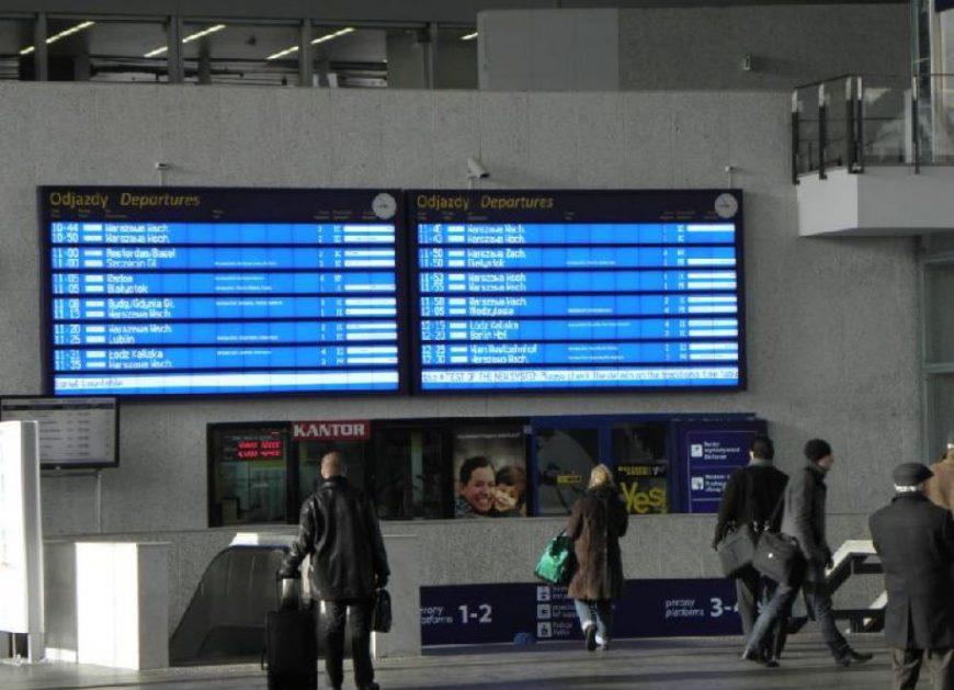 NaKolei.pl - Punktualność pociągów w I kwartale 2018 roku