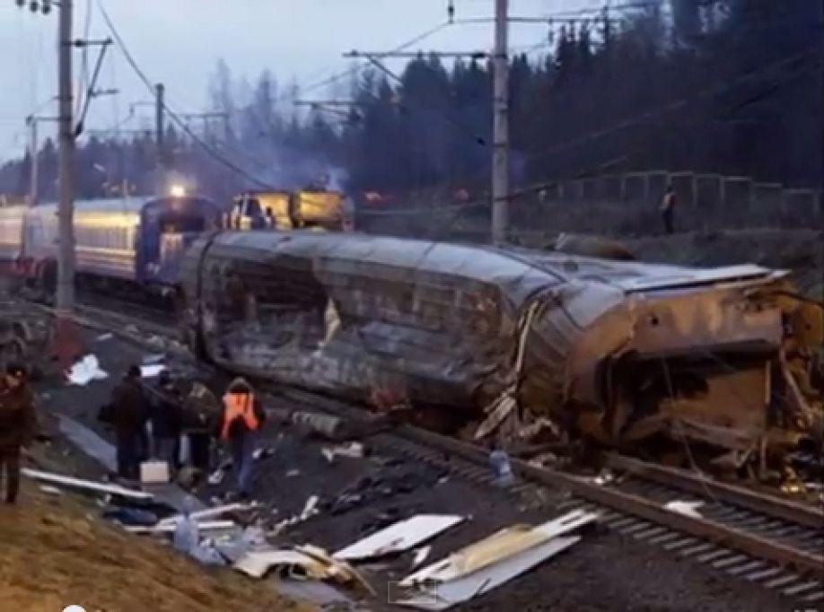 Rośnie liczba ofiar wypadku kolejowego pod Moskwą