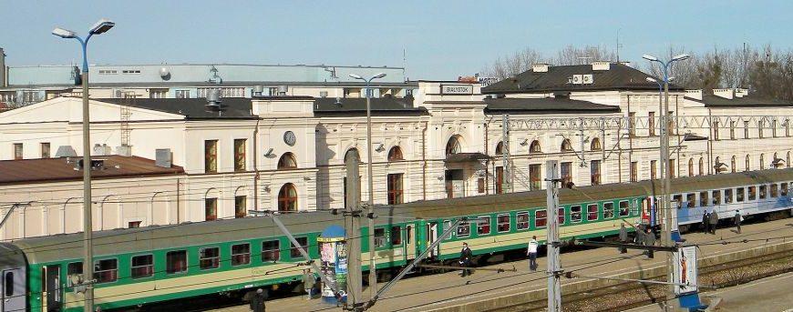 Na Kolei.pl - Remont dworca w Białymstoku