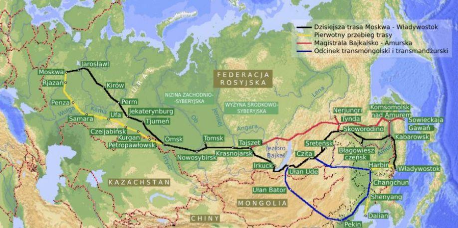 Chiny i Rosja budują razem linię kolejową! Czy to koniec słynnej kolei transsyberyjskiej?
