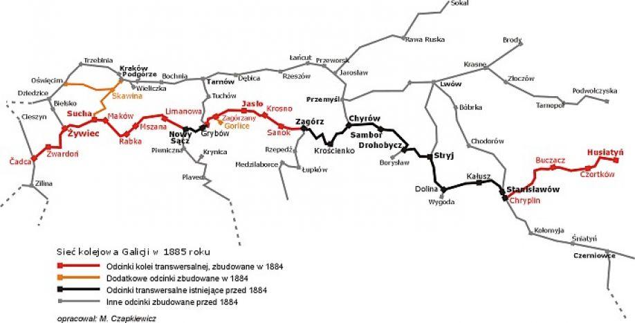 Kolej Galicyjska – cud techniki kolejarskiej sprzed 130 lat