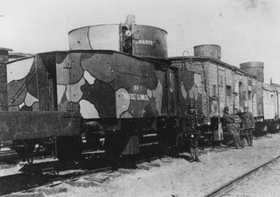 Pancerne pociągi w wojnie z bolszewikami