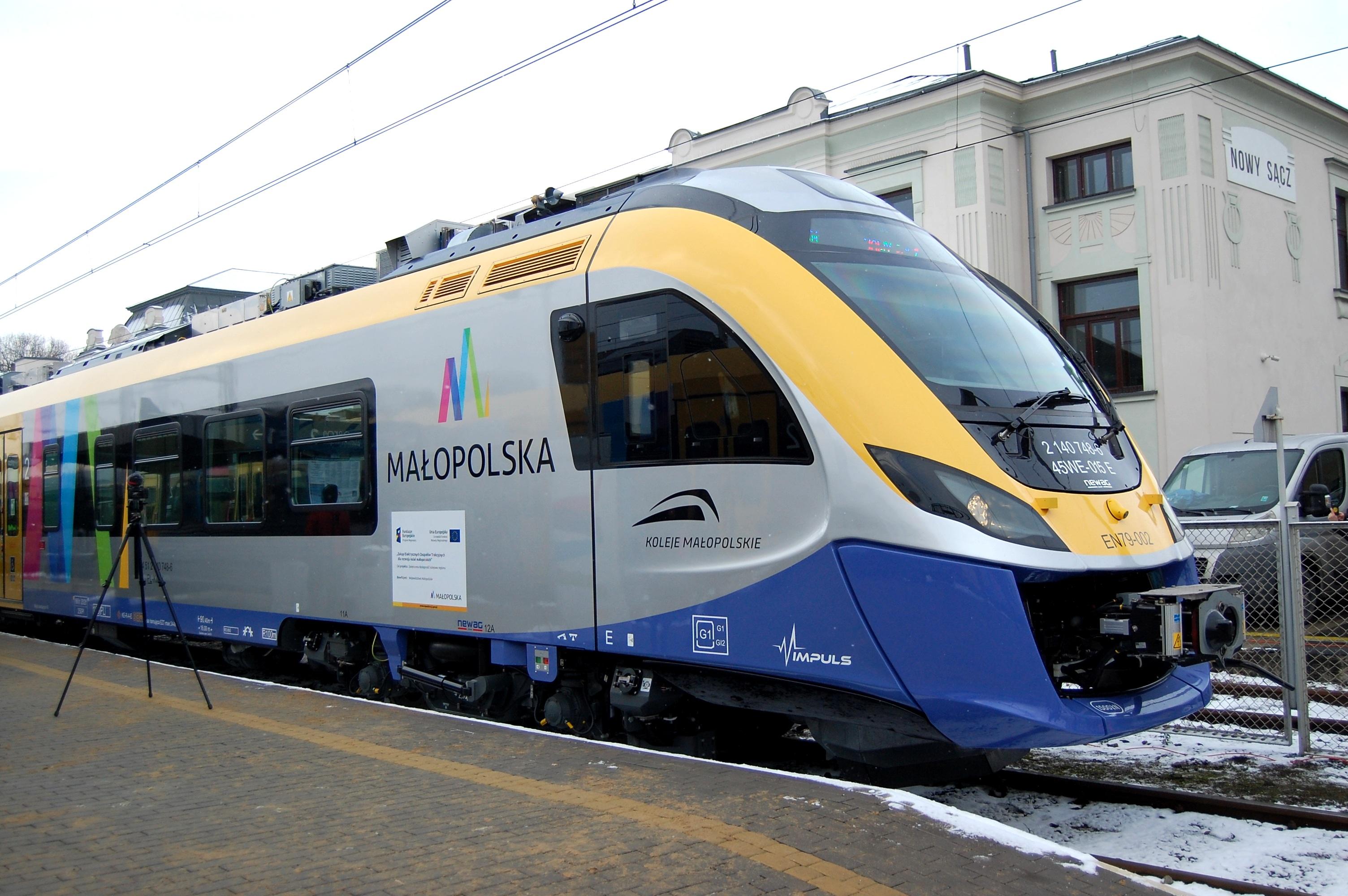 Poszukiwane imię dla pociągu, który będzie jeździł na trasie Kraków-Zakopane