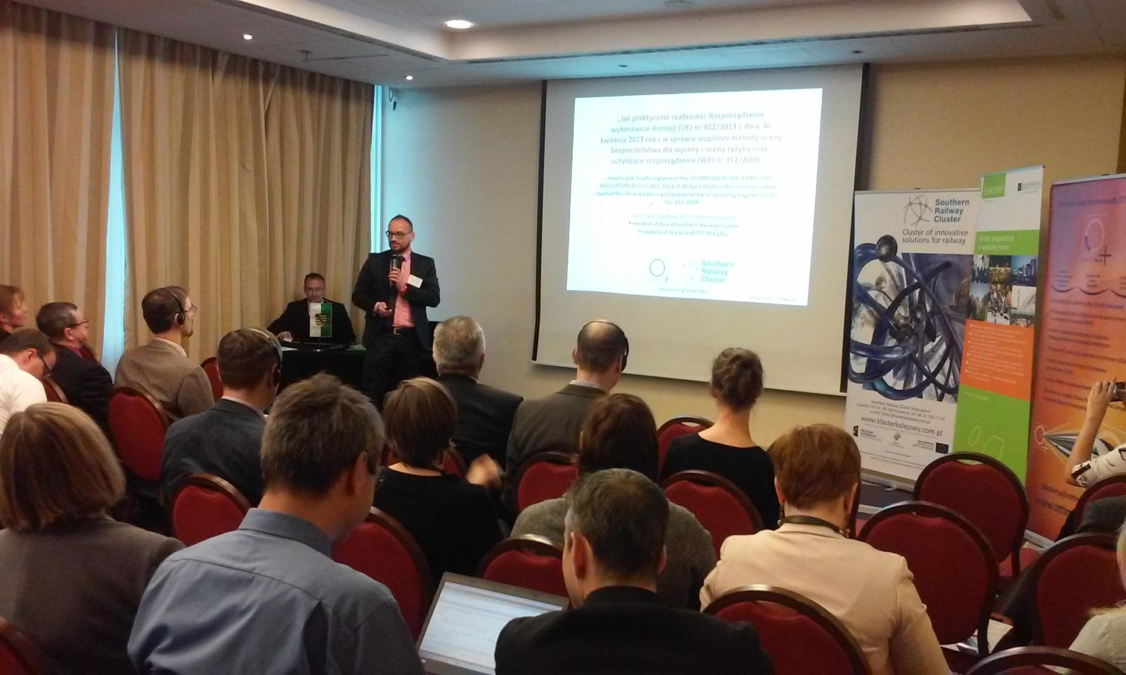 Przykład niemiecki w zarządzaniu bezpieczeństwem na polskiej kolei – odbyła się międzynarodowa konferencja