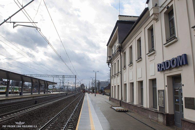 NaKolei.pl - Będzie nowy przystanek Radom Śródmieście