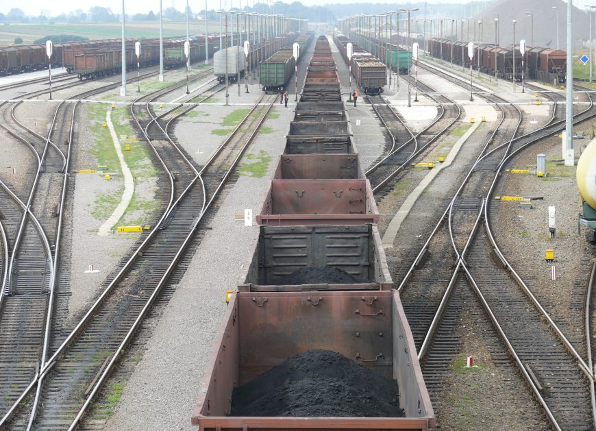 Przewóz towarów koleją w styczniu 2018 roku