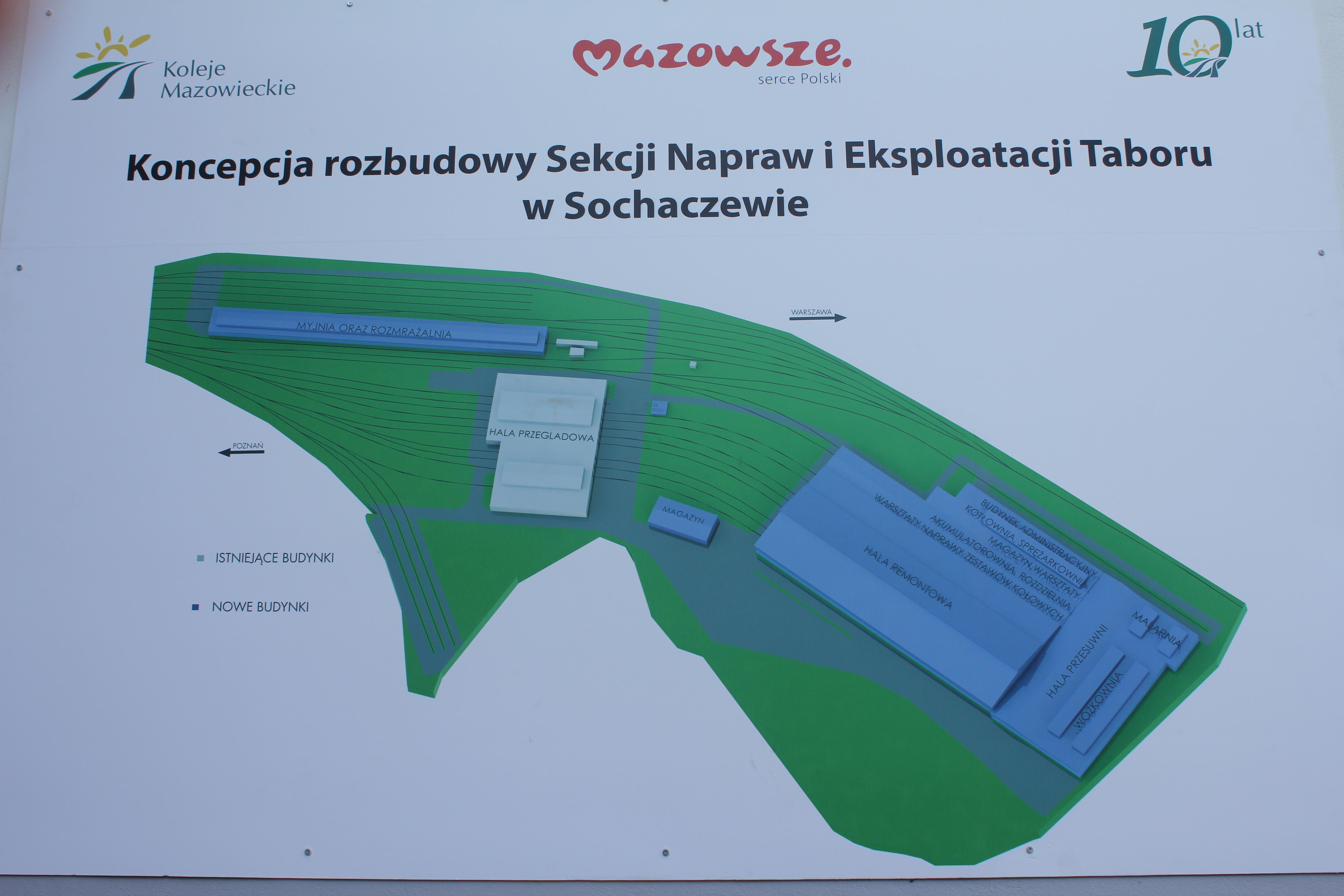 Rozbudowa bazy w Sochaczewie