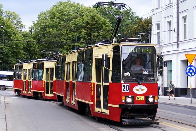 dokumentacja na linię tramwajową w Chorzowie