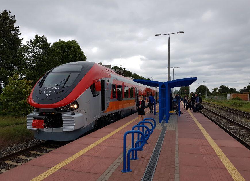 Przewozy pasażerskie listopad 2017