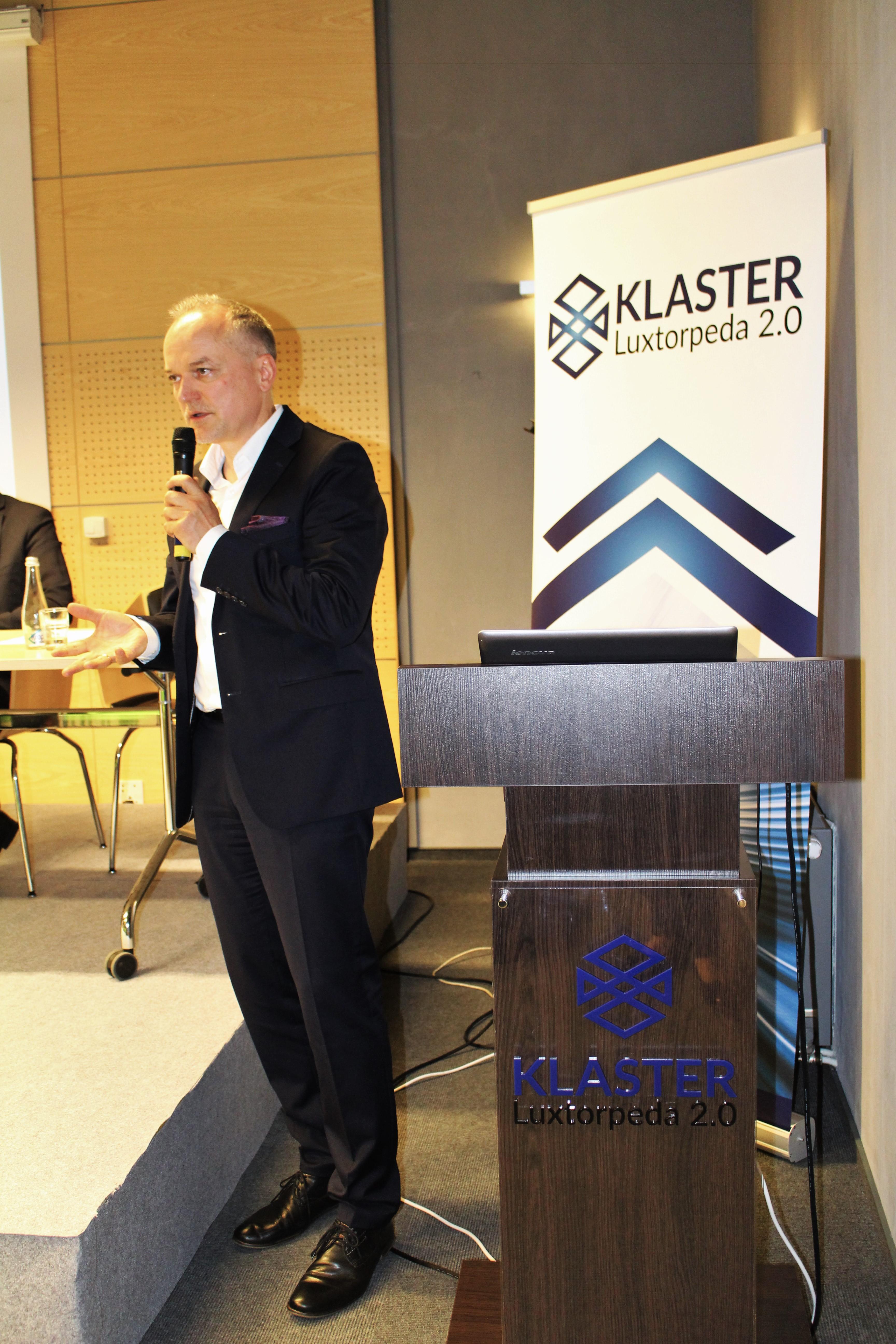 Czesław Warsewicz, Przewodniczący Rady Klastra Luxtorpeda 2.0 gospodarzem panelu dyskusyjnego na I Kongresie Patriotyzmu Ekonomicznego