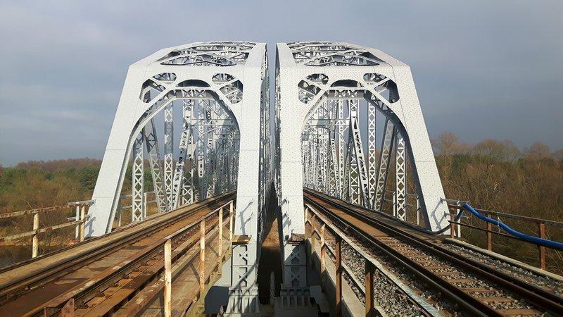 Remont mostu nad Bugiem