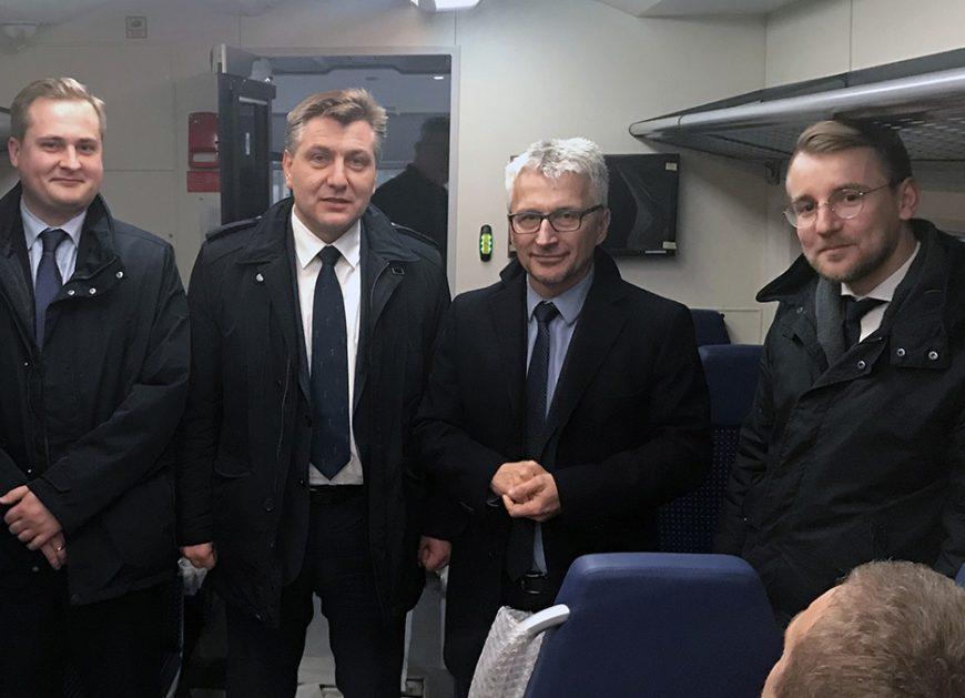 NaKolei.pl - UTK z wizytą w siedzibie PESY