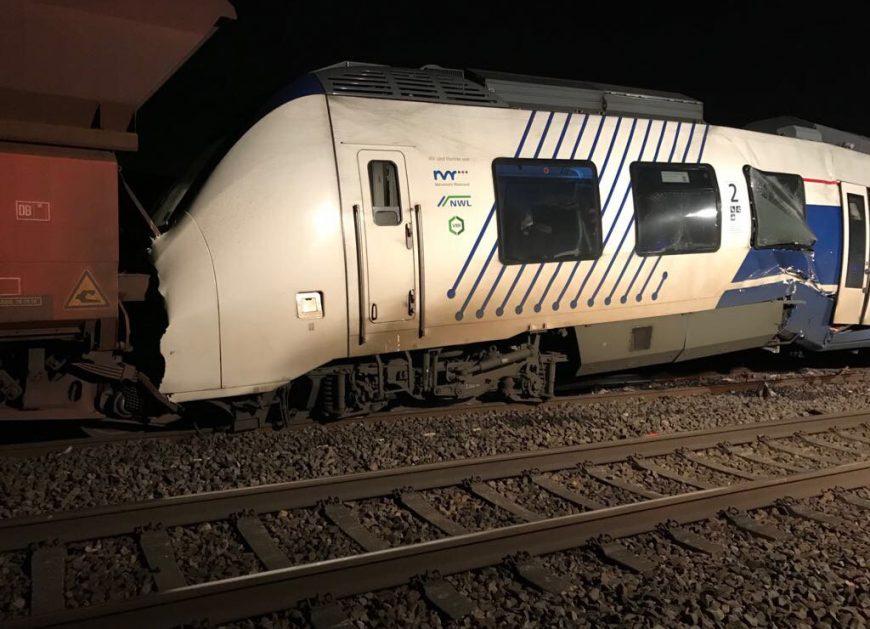 katastrofa kolejowa niemcy