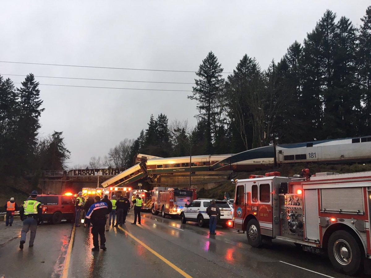Katastrofa kolejowa w USA: zginęło sześć osób