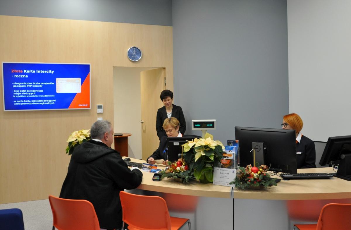 NaKolei.pl - Dodatkowe Centrum Obsługi Klienta PKP Intercity w Warszawie