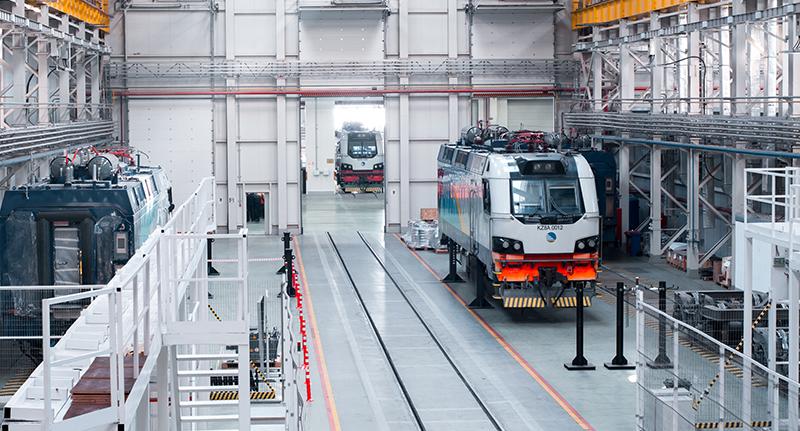 Kazachstan Alstom