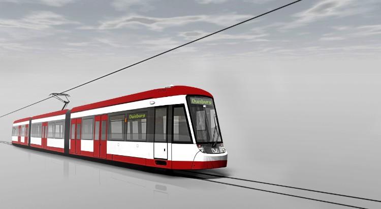 NaKolei.pl - Tramwaje Bombardiera będą jeździły w Duisburgu