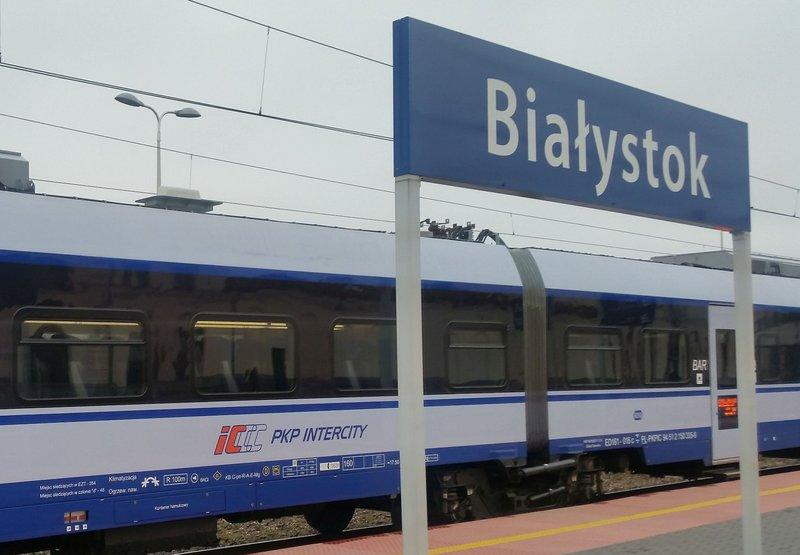 Rail Baltica Białystok Ełk