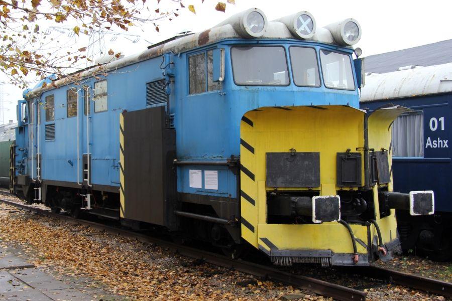 NaKolei.pl - Pług odśnieżny Stacji Muzeum: 27 stycznia można zwiedzać wnętrze pojazdu