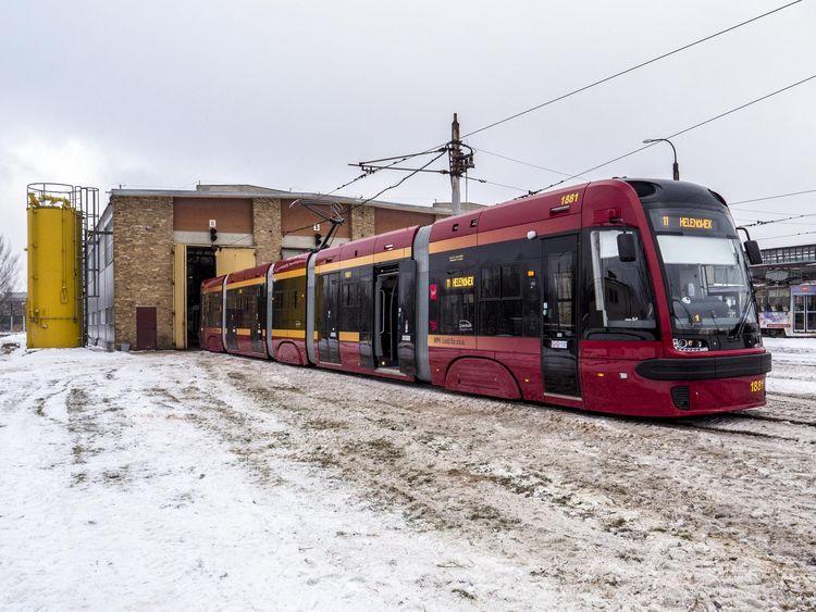 Łódź tramwaje Swing
