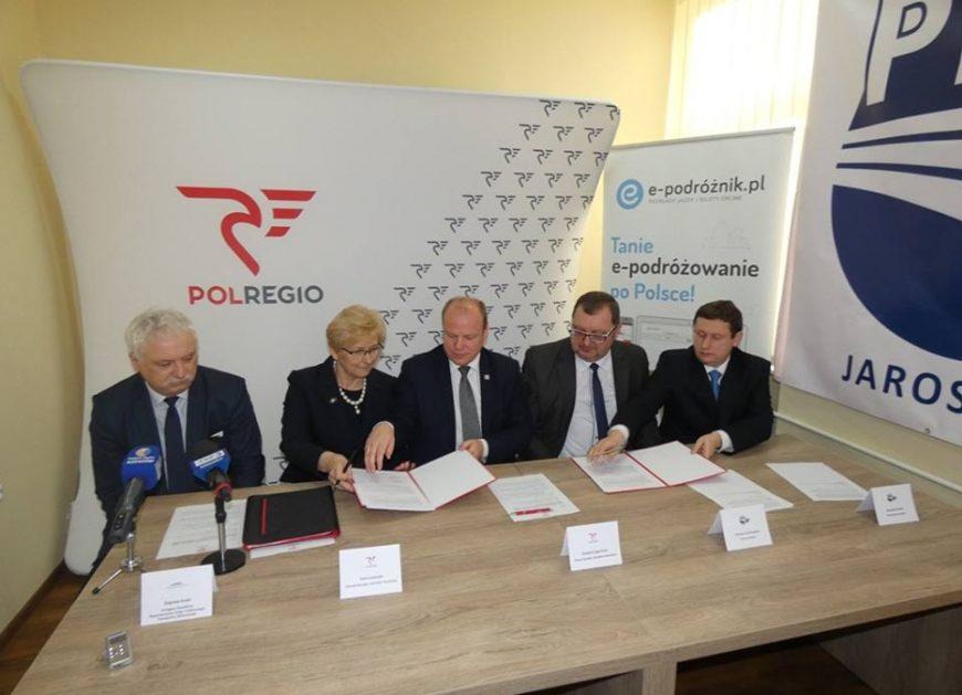 NaKolei.pl - PKS Jarosław i POLREGIO - wspólny bilet i usprawnienie komunikacji na Podkarpaciu