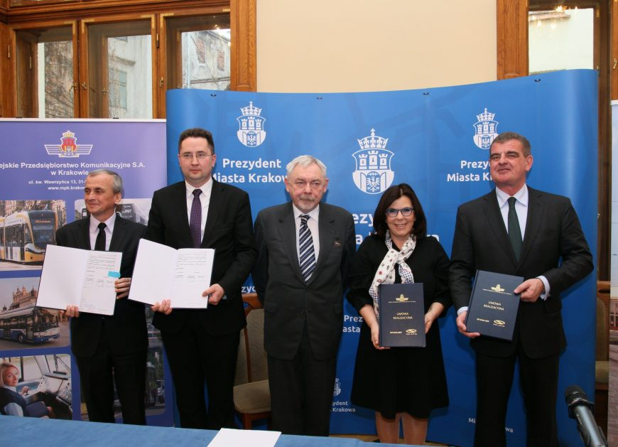 NaKolei.pl - MPK Kraków: 35 tramwajów od konsorcjum Solaris i Stadler w ramach umowy realizacyjnej