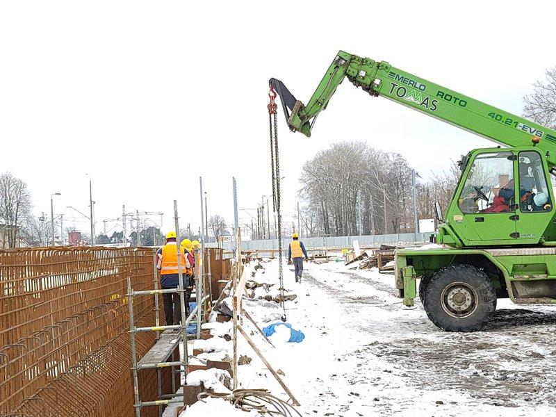 NaKolei.pl - Kontrole inwestycji – PKP PLK dbają o bezpieczeństwo podczas prac torowych