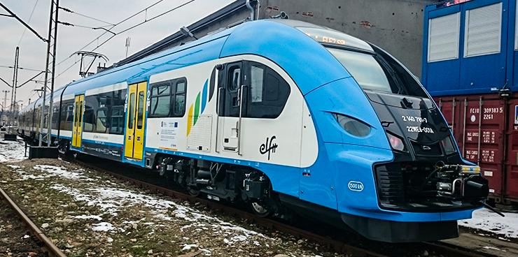 NaKolei.pl - Siedem pojazdów Elf2 trafi do RegioJet