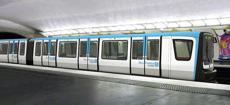 NaKolei.pl - Alstom: Nowe pociągi w paryskim metrze