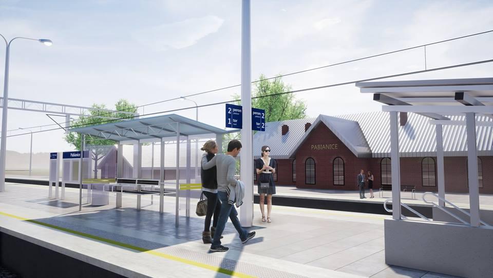 NaKolei.pl - Pabianice będą miały nową stację
