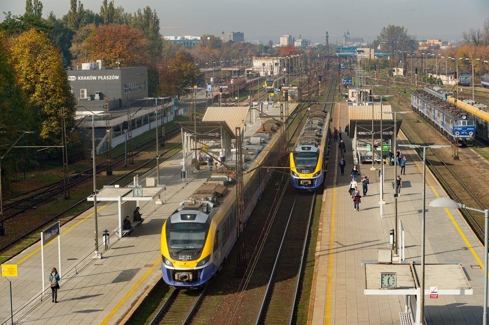Pociągi dla krakowskiej kolei aglomeracyjnej