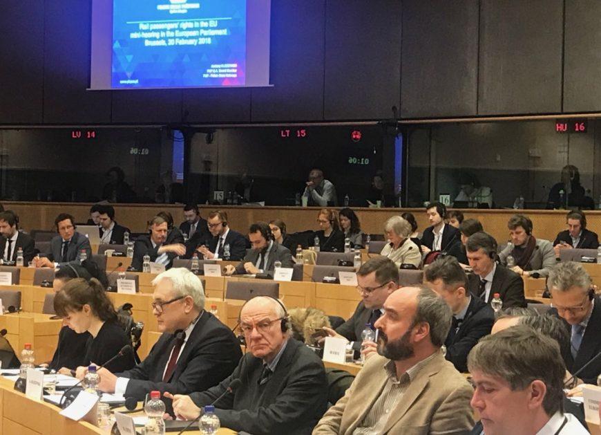 NaKolei.pl - Prawa pasażera tematem rozmów w Parlamencie Europejskim