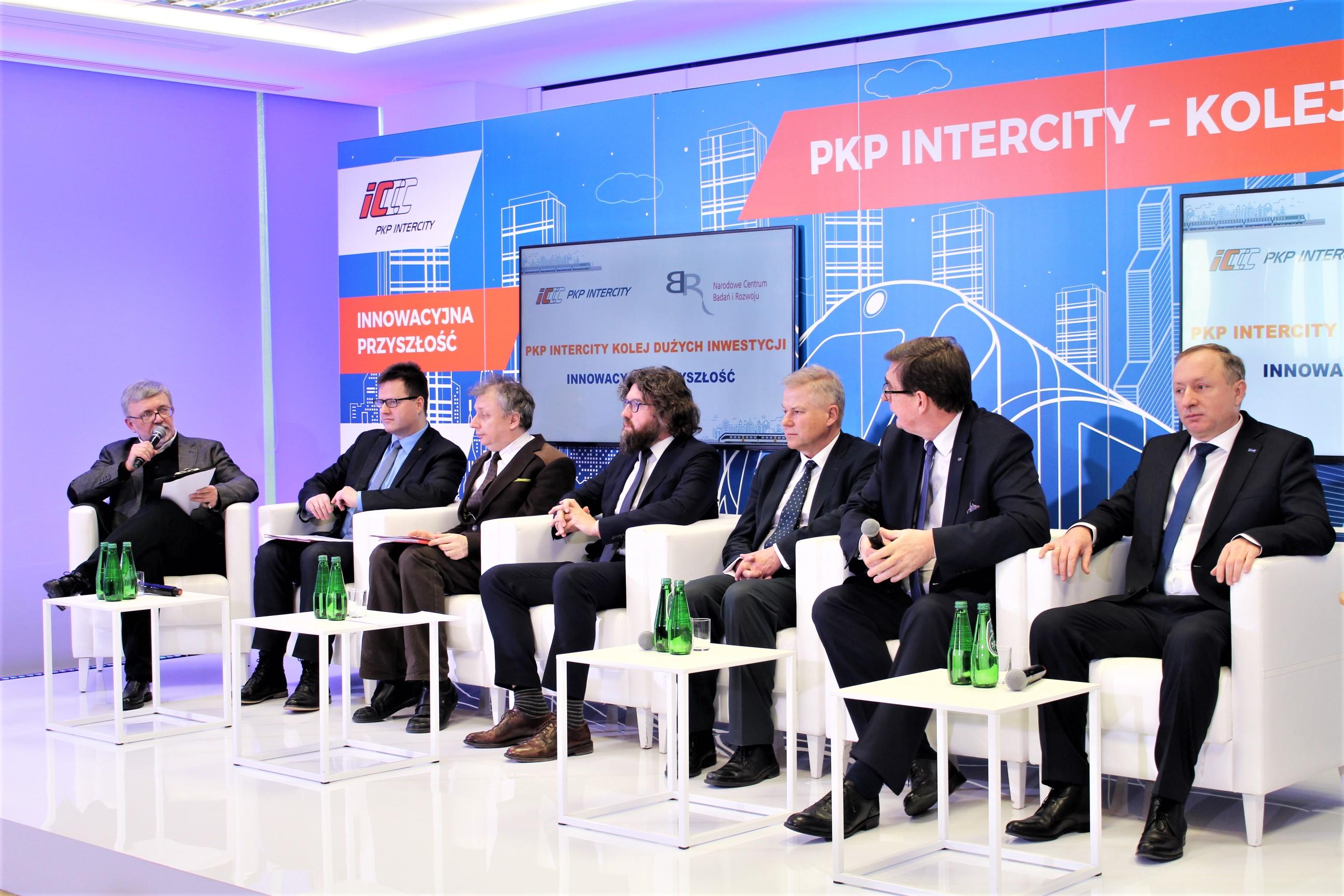 Współpraca PKP Intercity i NCBR w ramach partnerstwa innowacyjnego