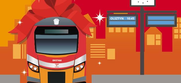 NaKolei.pl - Przewozy Regionalne w Olsztynie odebrały wczoraj pociąg EN57 ALd