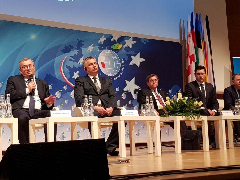 XI Forum Europa-Ukraina: Polsce zależy na rozwoju korytarzy Europa-Azja